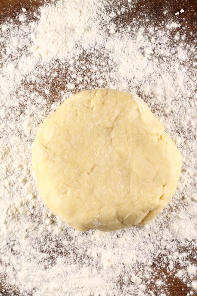 Pie Crust for Southern Sweet Potato Pie