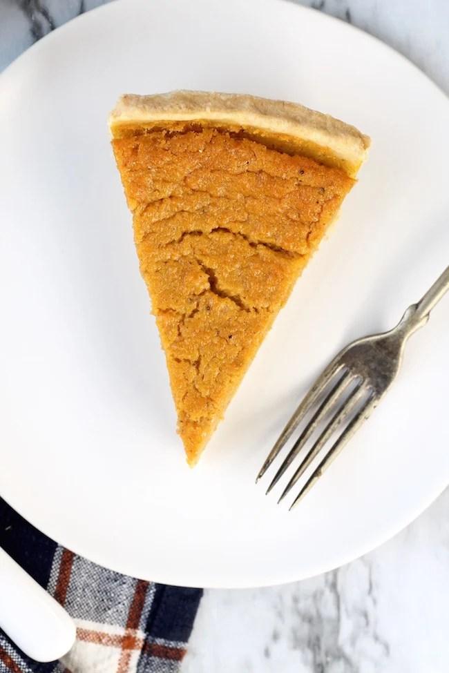 Slice of Southern Sweet Potato Pie