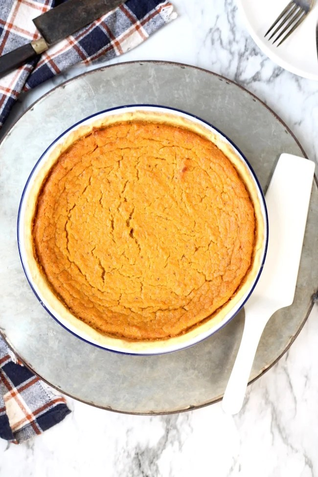 Baked Southern Sweet Potato Pie