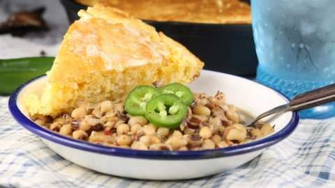 Crock Pot Black Eyed Peas