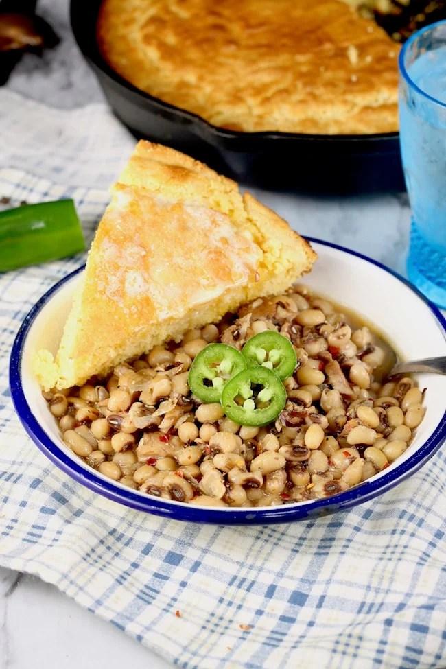 Crock Pot Black Eyed Peas