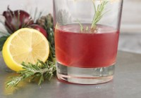 Pomegranate Sidecar holiday cocktail