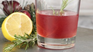 Pomegranate Sidecar Cocktail