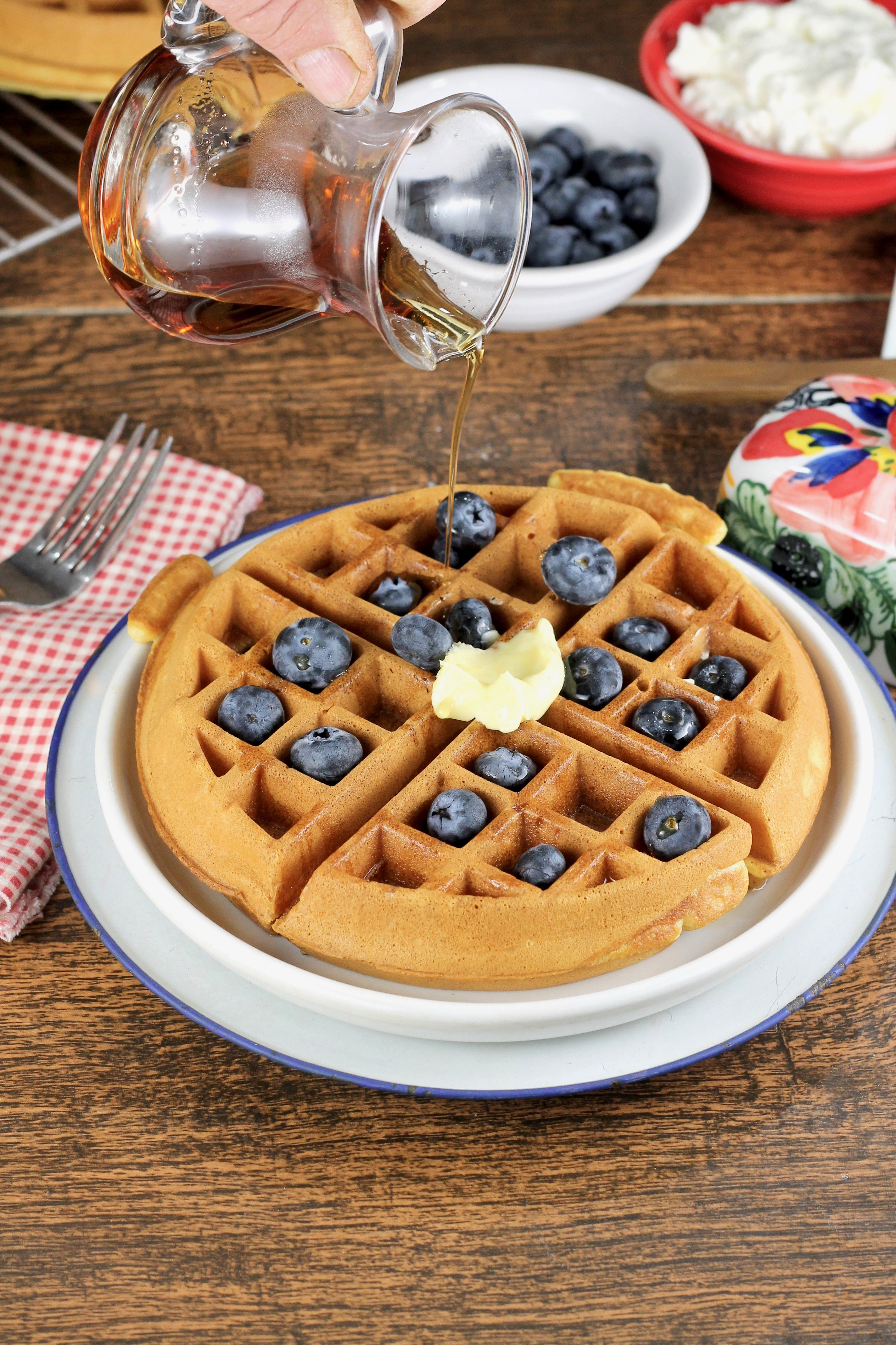 How to make the Best Belgian Waffles