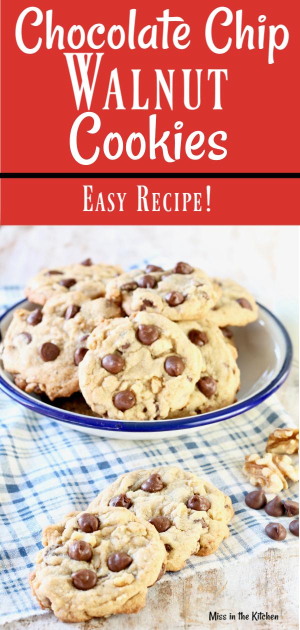 How to Make Chocolate Chip Walnut Cookies