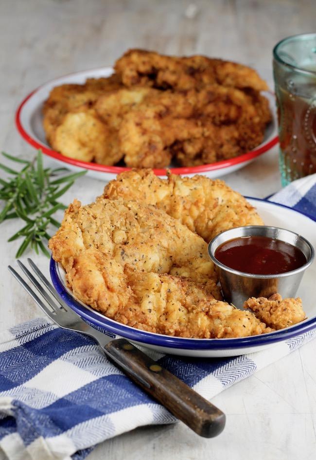 The Best Fried Chicken Strips