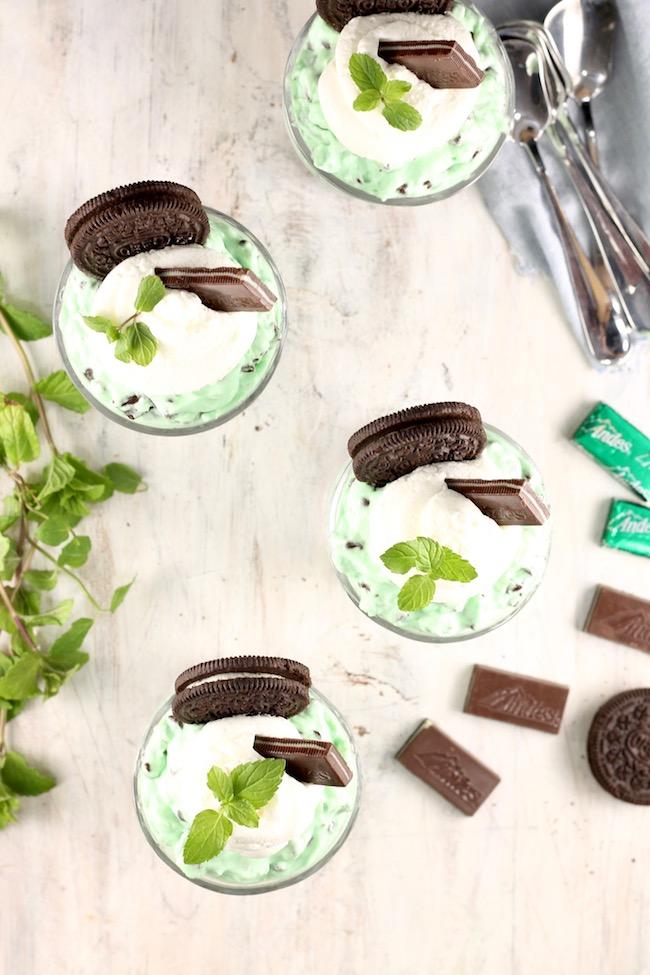How to make No Bake Mint Chocolate Chip Cheesecake