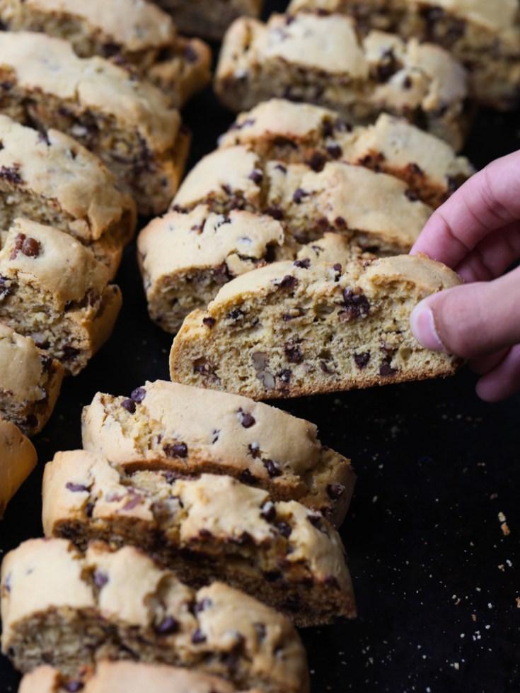 Cake Mix Biscotti