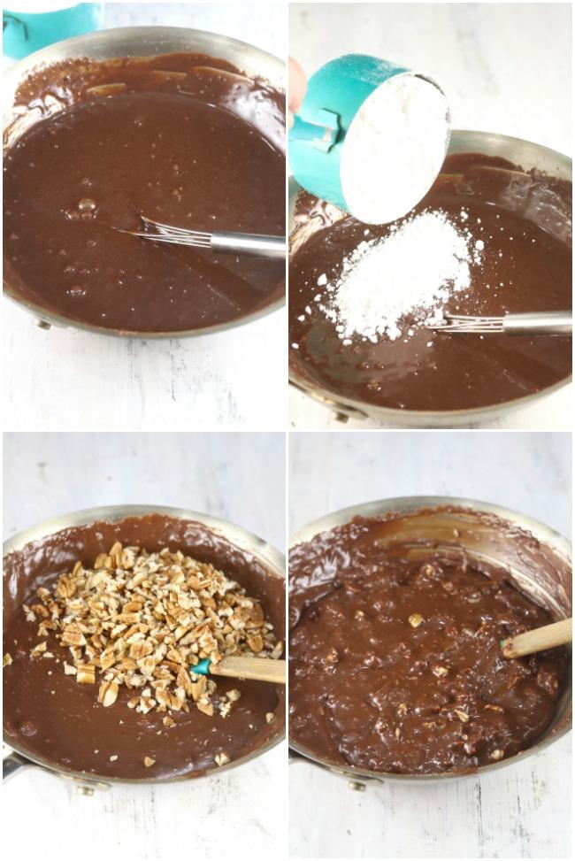 Chocolate Pecan Icing for Texas Sheet Cake