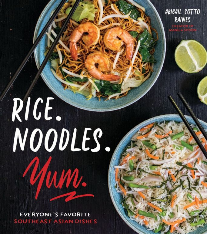 Rice. Noodles. Yum. Cookbook cover