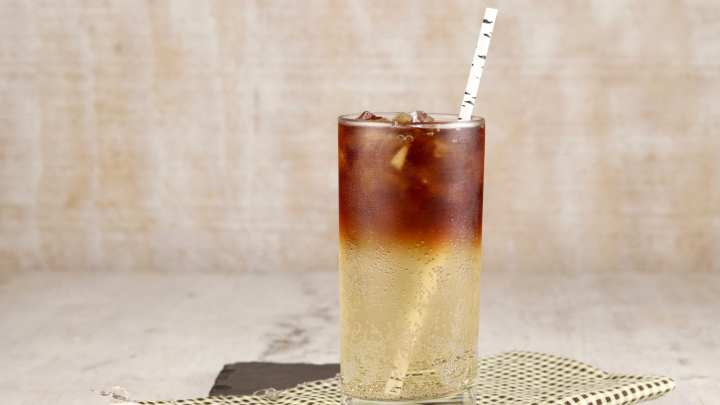 Rum and Ginger Ale Cocktail