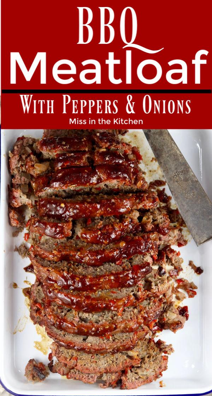 Sliced BBQ Meatloaf