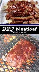 BBQ Meatloaf grilled