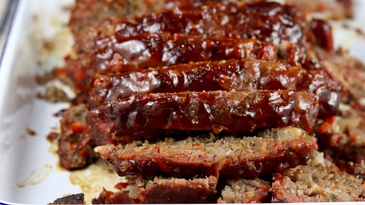 Sliced BBQ Meatloaf
