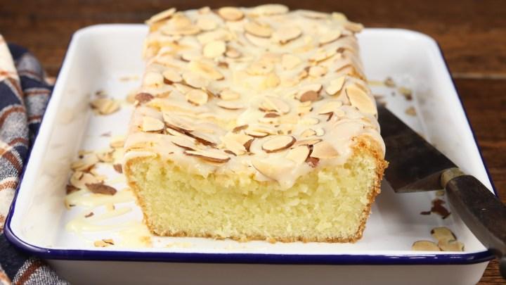 Buttery Almond Pound Cake