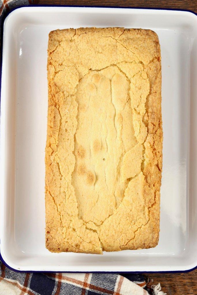 Buttery Almond Pound Cake Loaf