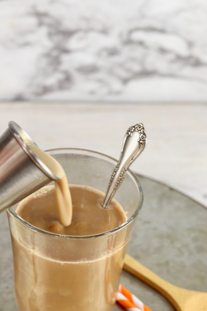 Irish Cream Chai Float Cocktail