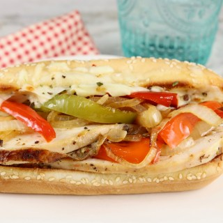 Chicken Philly Sandwich