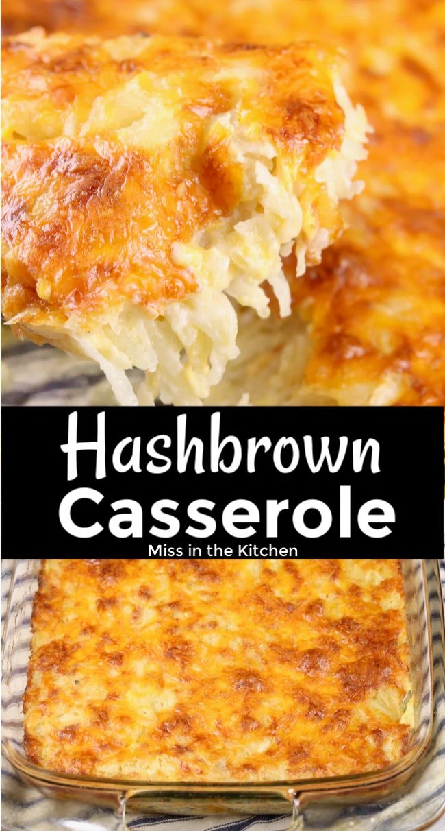 Hashbrown Casserole Collage
