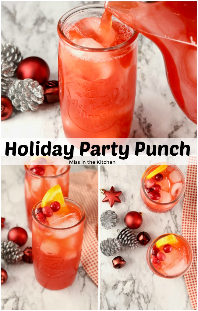 Holiday Party Punch Collage