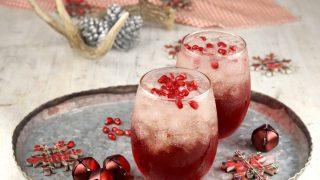 Pomegranate Mimosas