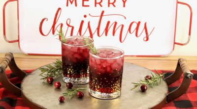 Christmas Punch with wine