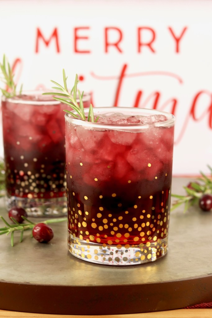 Christmas Punch cocktails