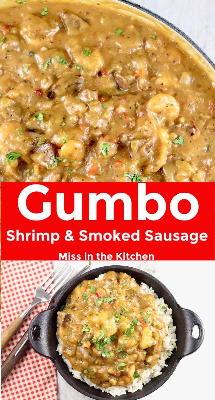 Shrimp Gumbo collage