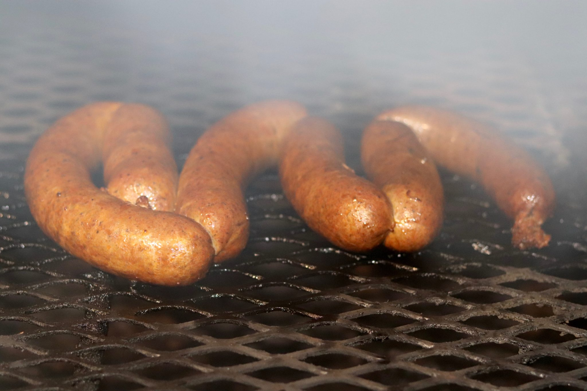 Grilled boudin