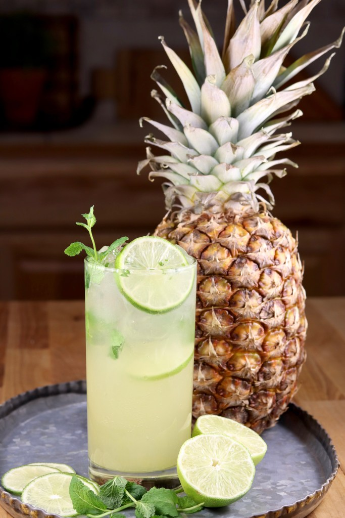Pineapple Cocktail with rum