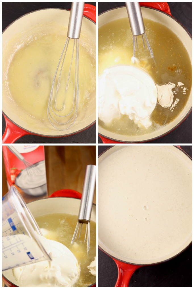 how to make sour cream sauce for burritos
