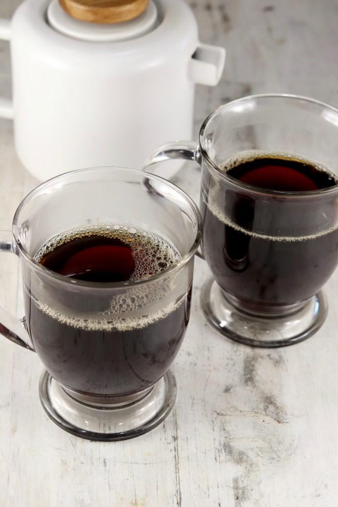 Dark brewed cofffee