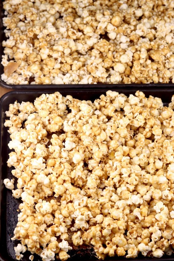 Baking Caramel Popcorn