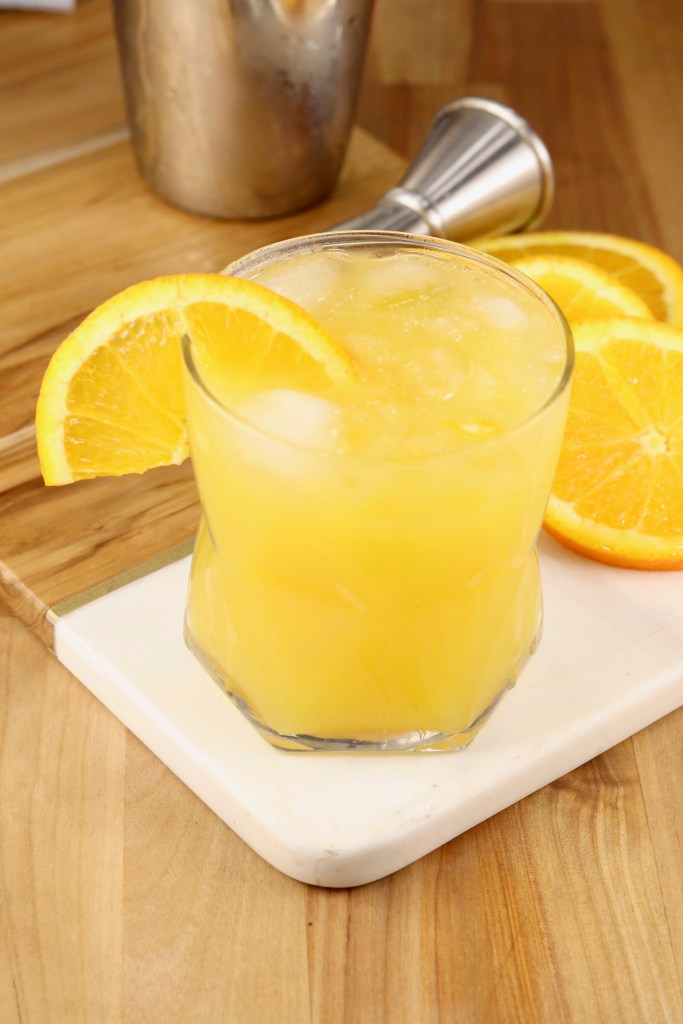 Fuzzy Screwdriver Vodka Cocktail