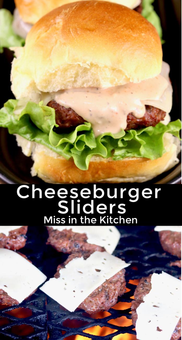 Cheeseburger Slidersq