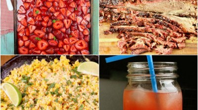4th of July Recipes collage