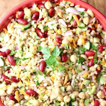 Bean and Barley Salad