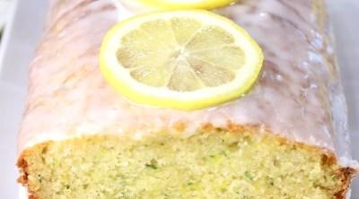 Lemon Zucchini Cake loaf