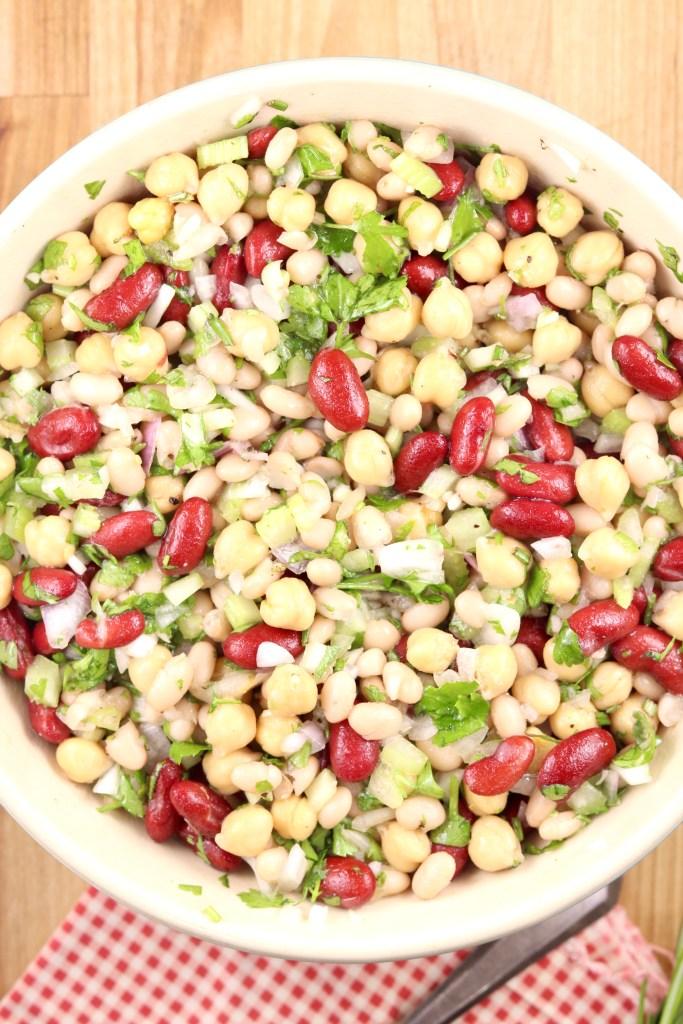 Quick Three Bean Salad Recipe