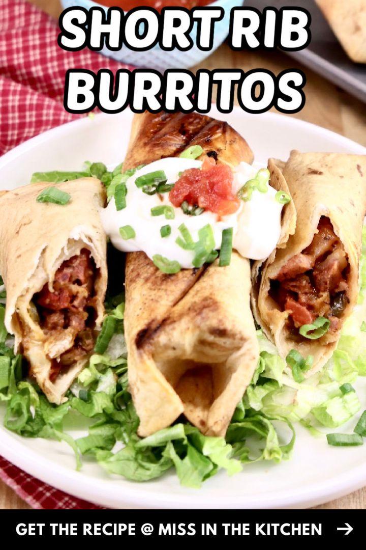 Short Rib Burritos