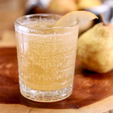 Pear Bourbon Smash