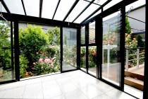 ガーデンルームから眺めるお庭~さいたま市緑区 I様邸