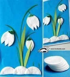 Schneeglöckchen Basteln Frühling