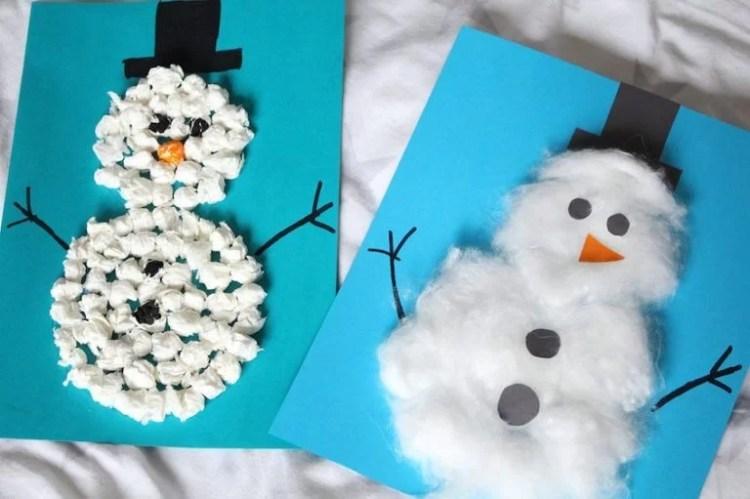 Basteln Mit Kindern Und Kleinkindern Im Winter Mission Mom