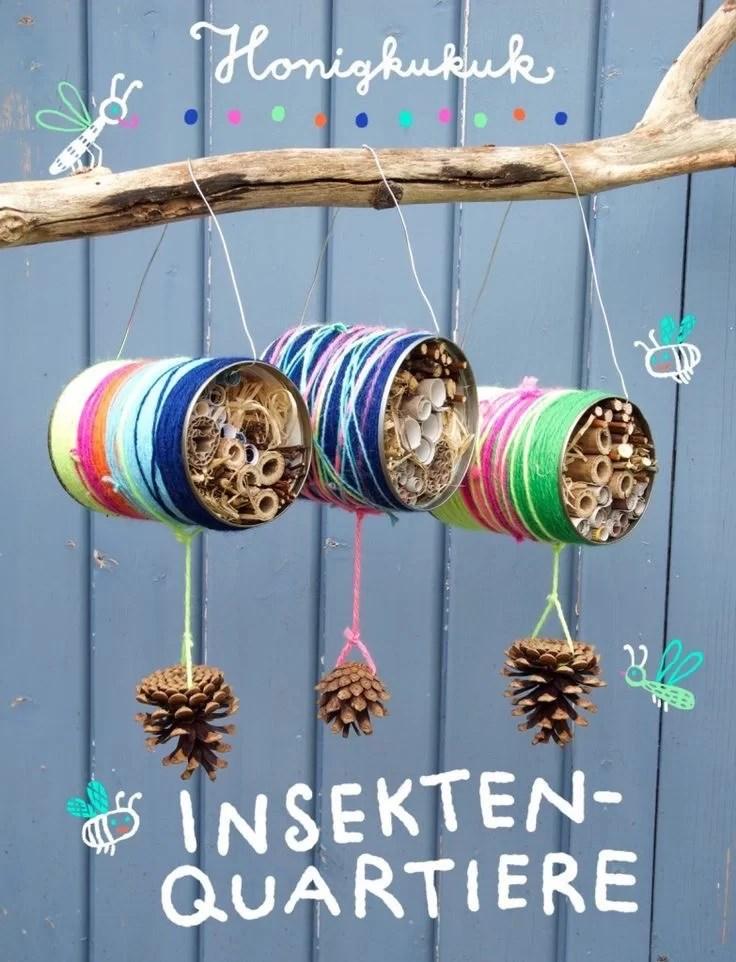 Mit Naturmaterialien basteln- tolle Bastelideen für Kinder und Kleinkinder, Mission Mom