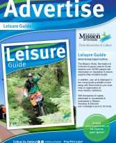 Advertising in the Leisure Guide