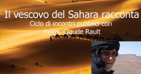 4 -13 ottobre: il vescovo del Sahara in Italia