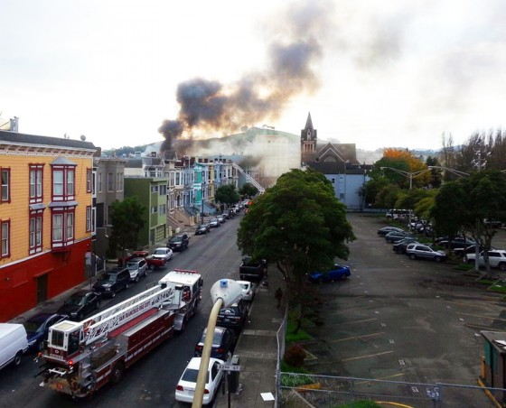 fire, mission district, san francisco, December 29th fire