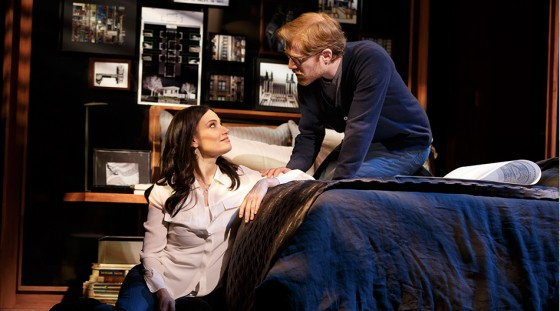 Idina Menzel and Anthony Rapp in If/Then