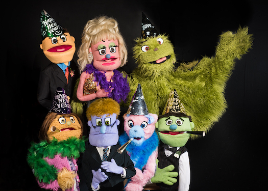 NCT Avenue Q puppets